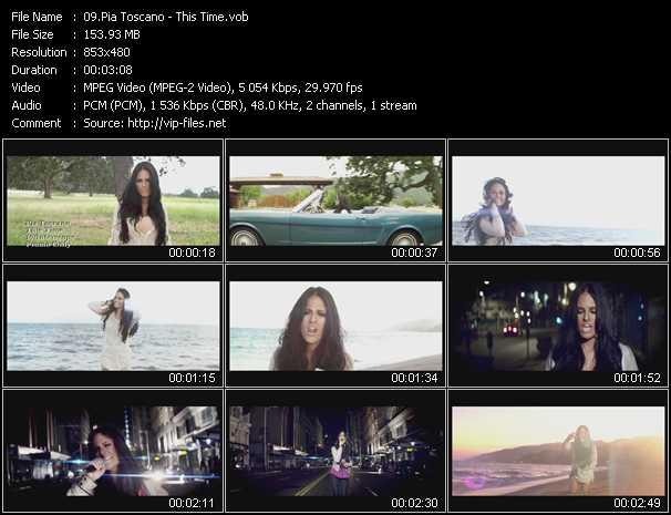 Pia Toscano video screenshot