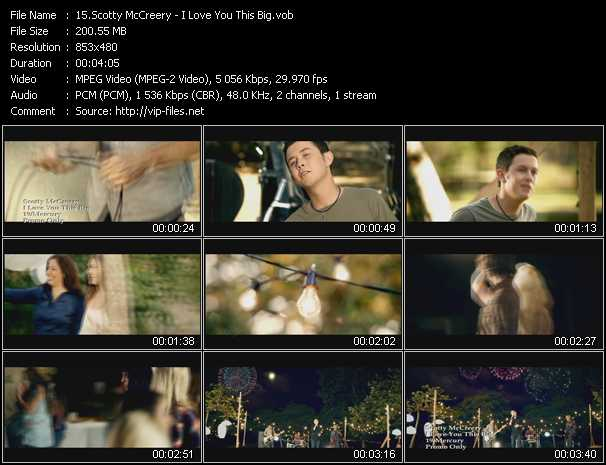 Scotty McCreery video screenshot