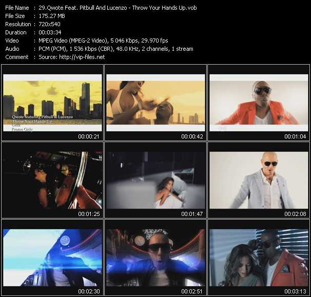 Qwote Feat. Pitbull And Lucenzo video screenshot