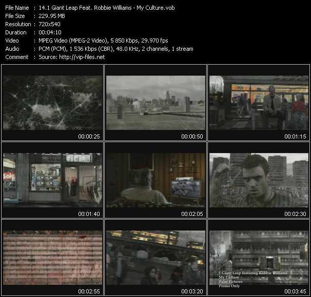 1 Giant Leap Feat. Robbie Williams video screenshot