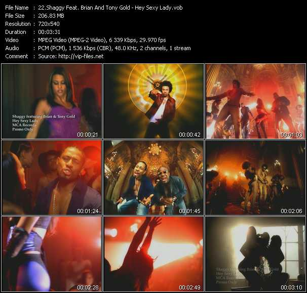 Shaggy Feat. Brian And Tony Gold video screenshot