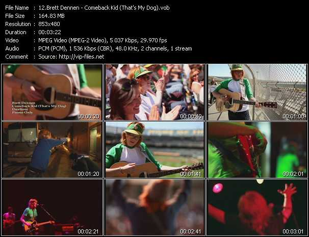 Brett Dennen video screenshot