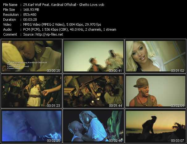Karl Wolf Feat. Kardinal Offishall video screenshot