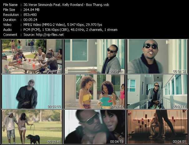 Verse Simmonds Feat. Kelly Rowland video screenshot