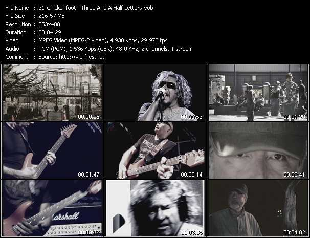 Chickenfoot video screenshot