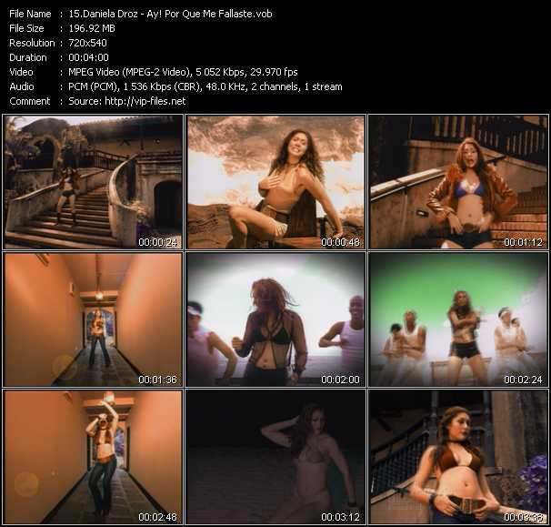 Daniela Droz video screenshot