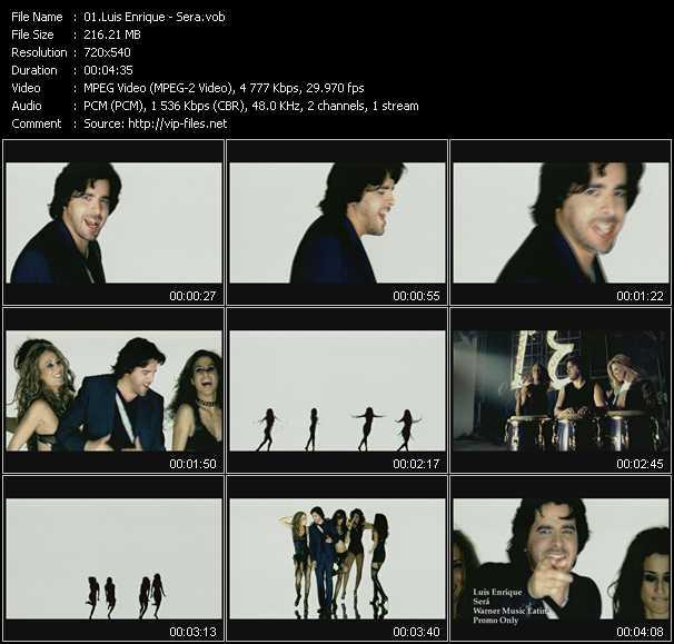 Luis Enrique video screenshot