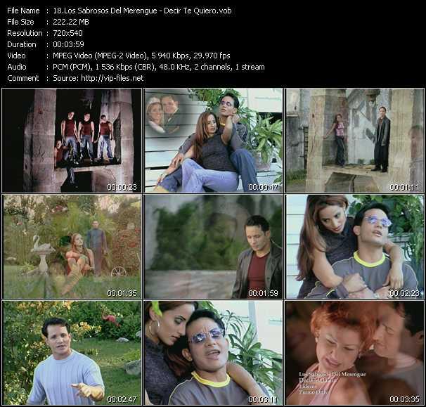 Los Sabrosos Del Merengue video screenshot