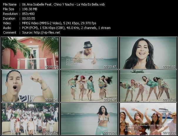 Ana Isabelle Feat. Chino And Nacho video screenshot