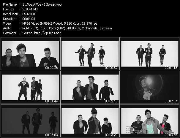 Voz A Voz video screenshot