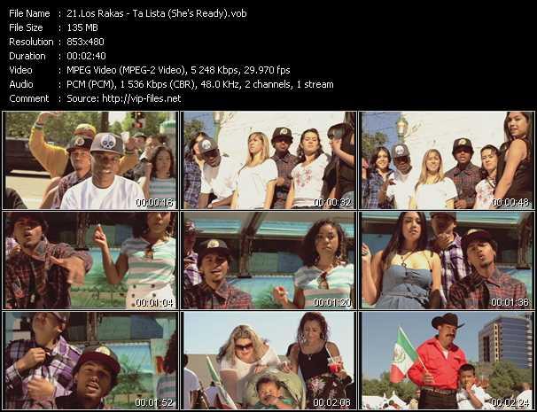 Los Rakas video screenshot