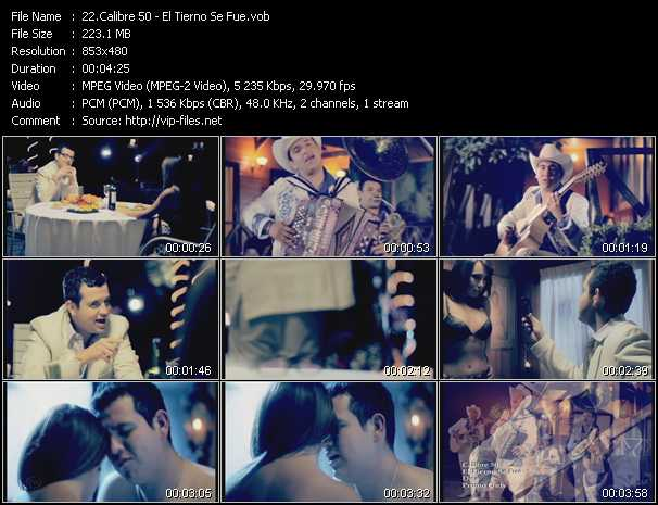 Calibre 50 video screenshot