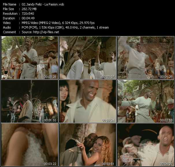 Jandy Feliz video screenshot