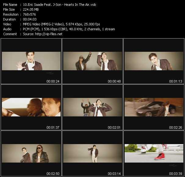 Eric Saade Feat. J-Son video screenshot