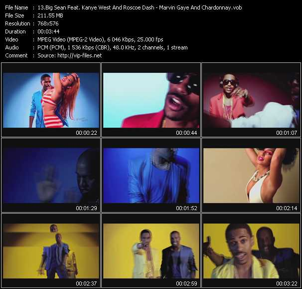 video Marvin Gaye And Chardonnay screen