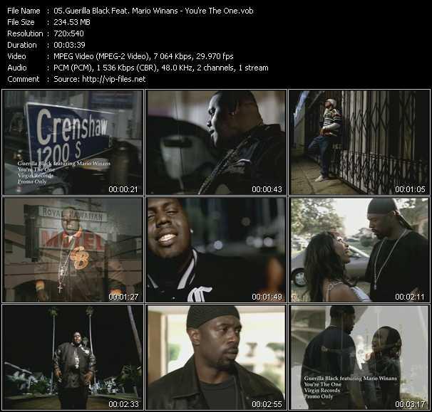 Guerilla Black Feat. Mario Winans video screenshot