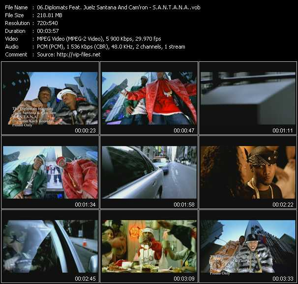 Diplomats Feat. Juelz Santana And Cam'ron video screenshot