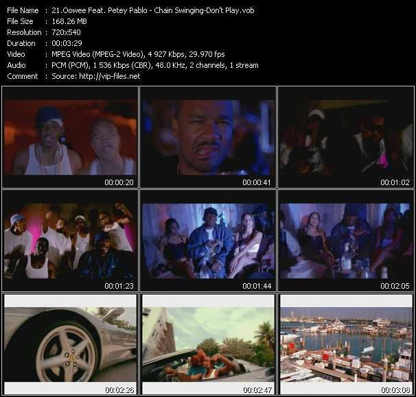 Oowee Feat. Petey Pablo video screenshot