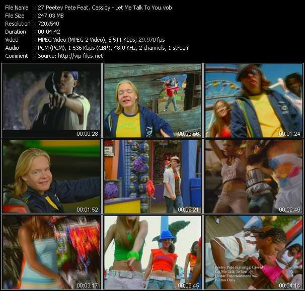 Peetey Pete Feat. Cassidy video screenshot