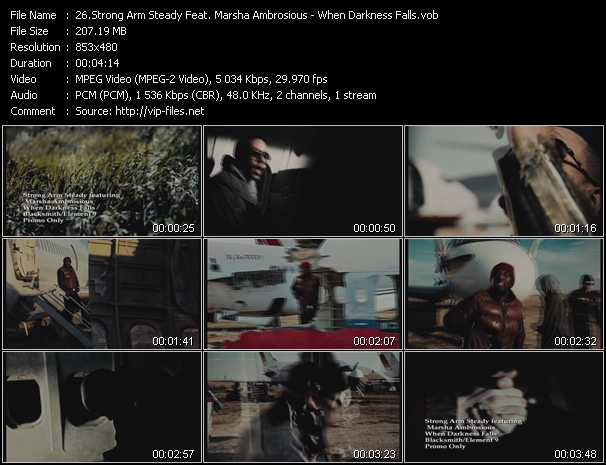 Strong Arm Steady Feat. Marsha Ambrosius video screenshot