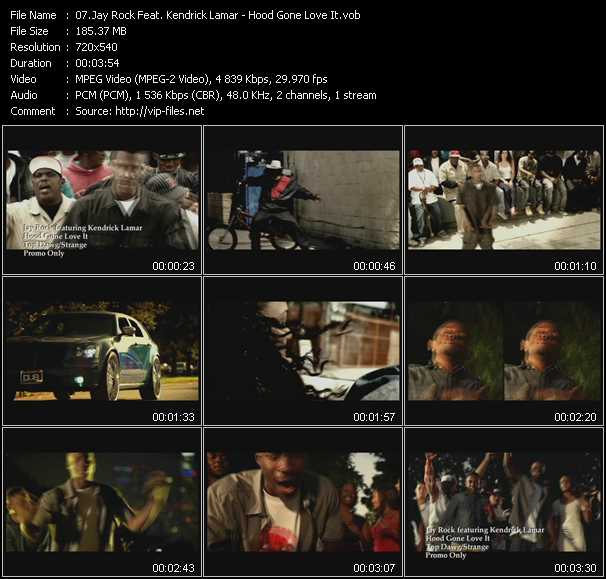Jay Rock Feat. Kendrick Lamar video screenshot