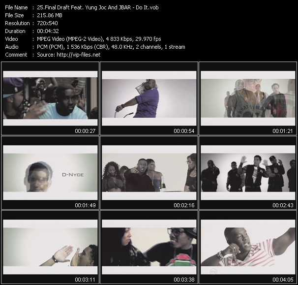 Final Draft Feat. Yung Joc And J-Bar video screenshot