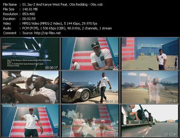 Jay-Z And Kanye West Feat. Otis Redding video screenshot