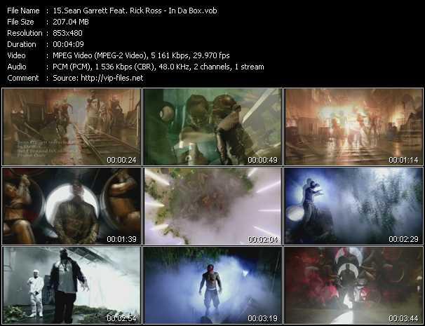 Sean Garrett Feat. Rick Ross video screenshot
