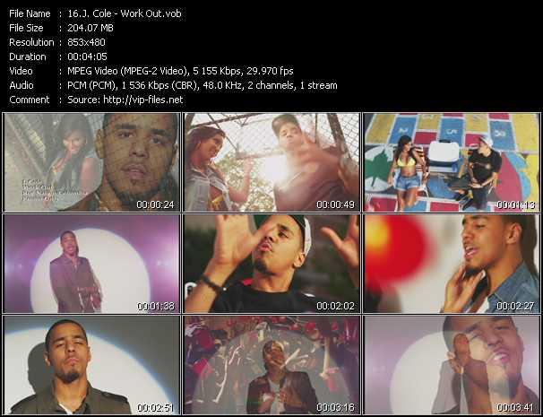 J. Cole video screenshot