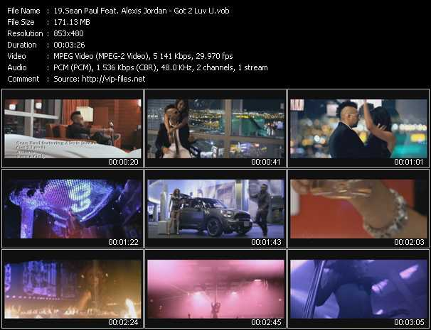 Sean Paul Feat. Alexis Jordan video screenshot