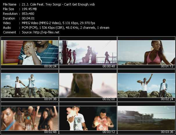 J. Cole Feat. Trey Songz video screenshot