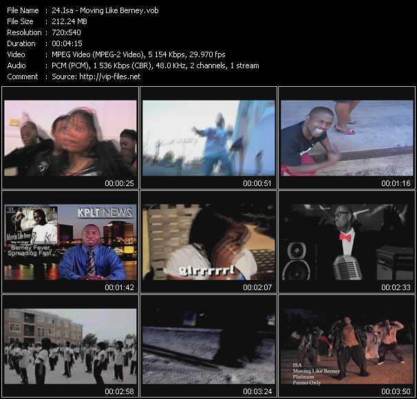 Isa video screenshot
