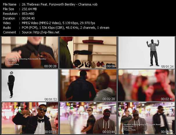 Thebreax Feat. Fonzworth Bentley video screenshot