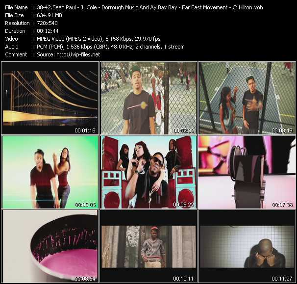 Sean Paul Feat. Alexis Jordan - J. Cole - Dorrough Music And Ay Bay Bay Feat. Official - Far East Movement - Cj Hilton video screenshot