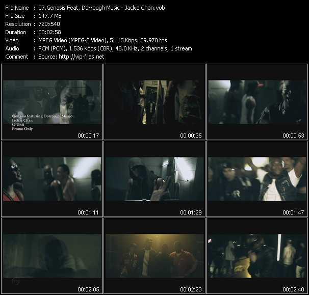 Genasis Feat. Dorrough Music video screenshot