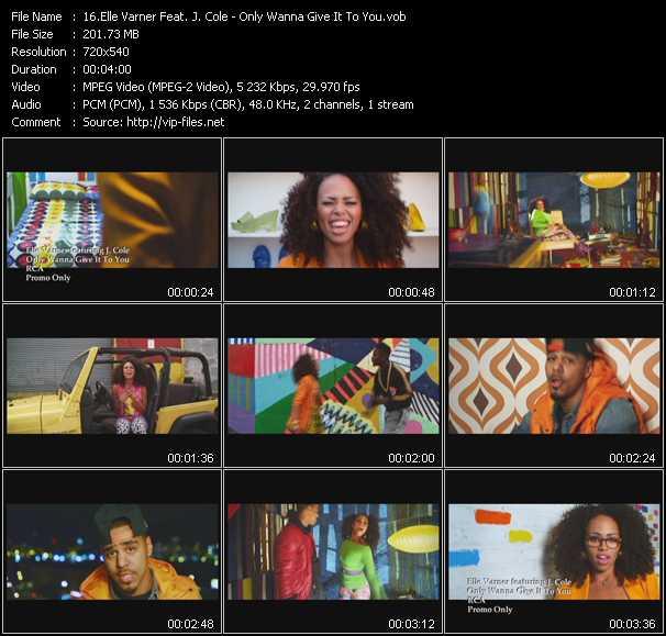 Elle Varner Feat. J. Cole video screenshot