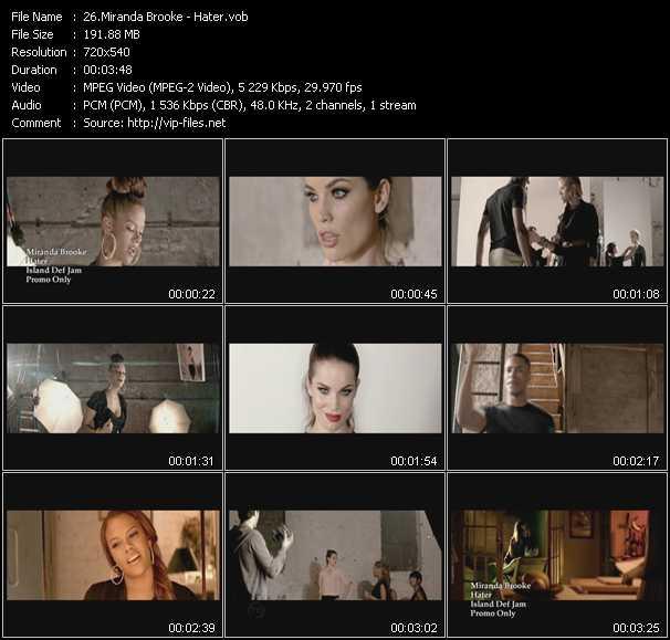 Miranda Brooke video screenshot