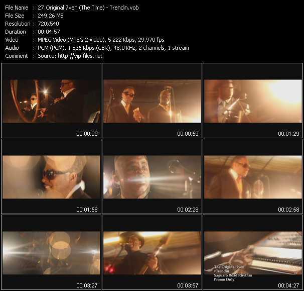 Original 7ven (The Time) video screenshot