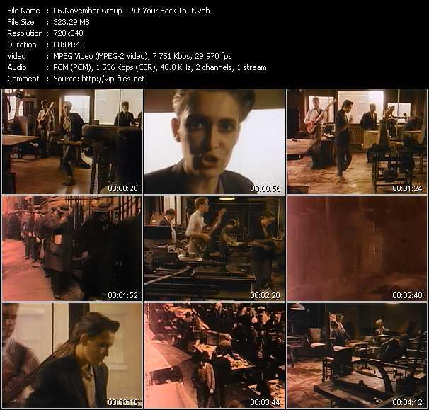 November Group video screenshot