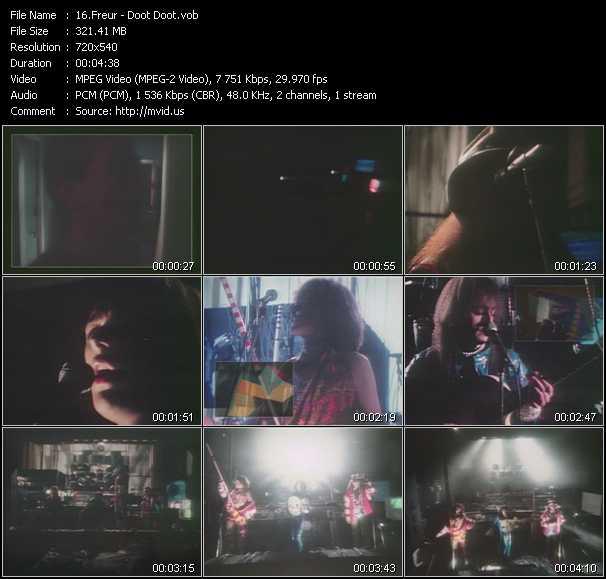 Freur video screenshot