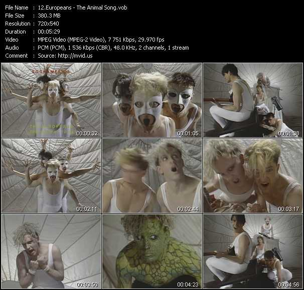 Europeans video screenshot