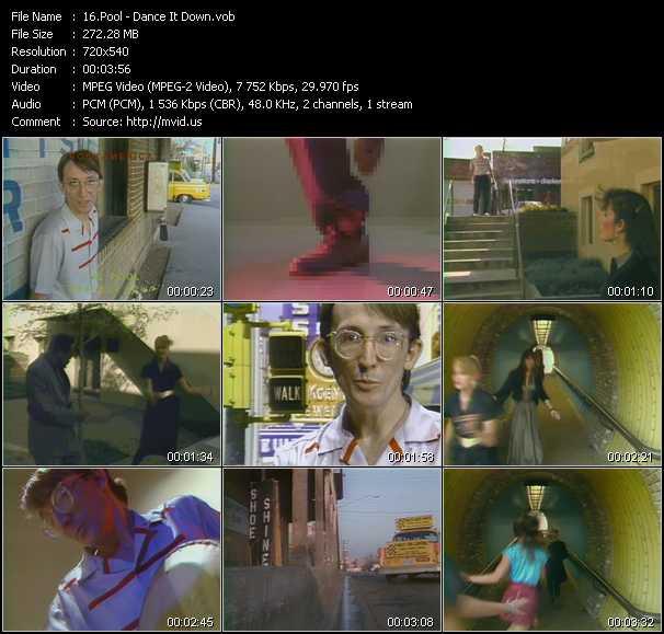Pool video screenshot