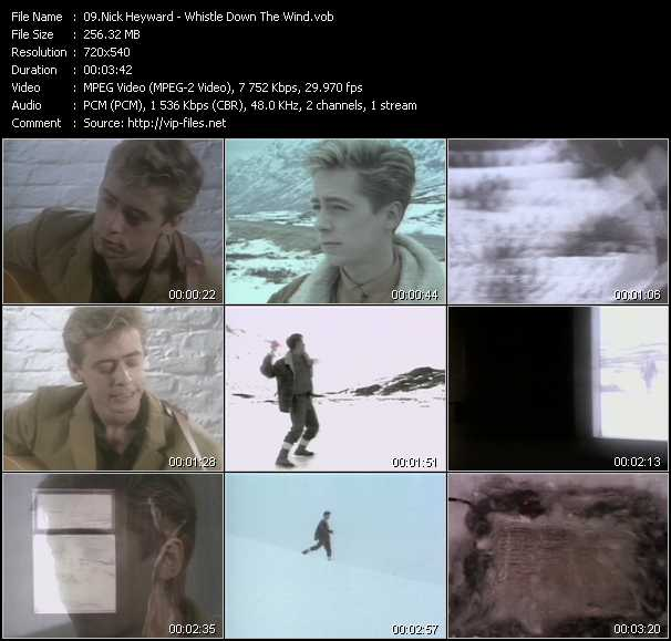 Nick Heyward video screenshot