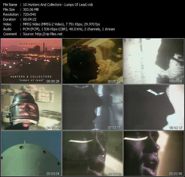 Hunters And Collectors video screenshot