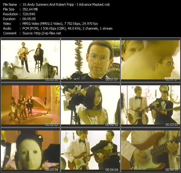 Andy Summers And Robert Fripp video screenshot