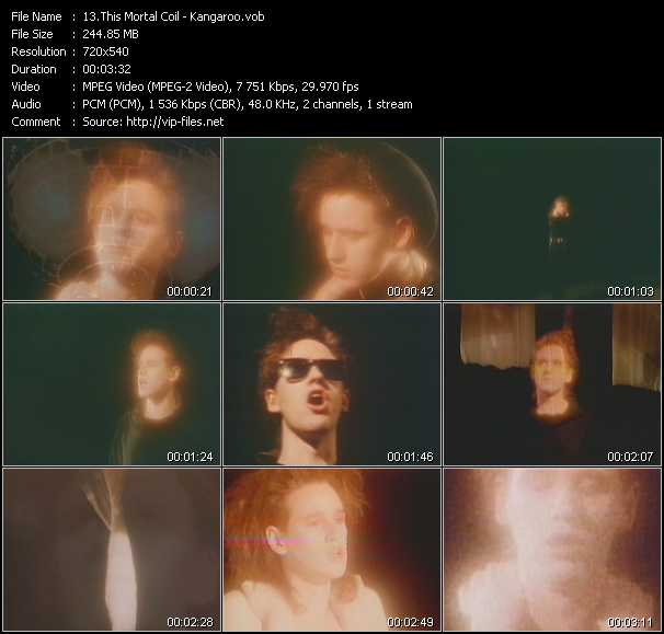 This Mortal Coil video screenshot