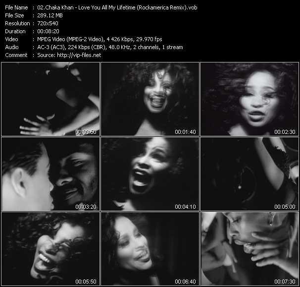 video Love You All My Lifetime (Rockamerica Remix) screen