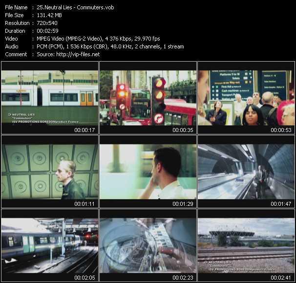 Neutral Lies video screenshot