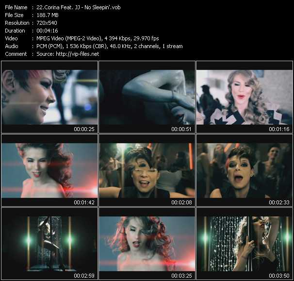 Corina Feat. JJ video screenshot