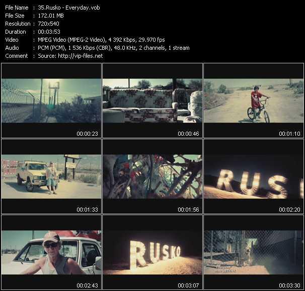 Rusko video screenshot